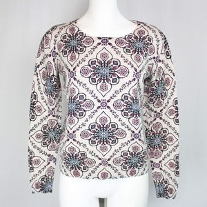 Old Navy | Floral Print Sweater 100% Cotton